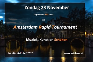 Aankondiging Amsterdam Rapid Tournament